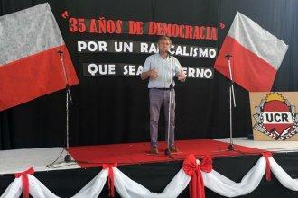 En campaña, Galimberti reclamó un modelo de desarrollo consensuado