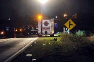Mueren dos jóvenes en fatal accidente en Ruta Nacional 18