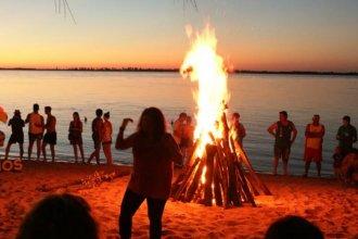Unieron simbólicamente las costas del Río Uruguay, Gualeguay y Paraná