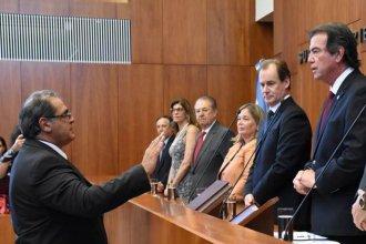 Ante Bordet y Castrillón, Carbonell asumió como vocal del Superior Tribunal