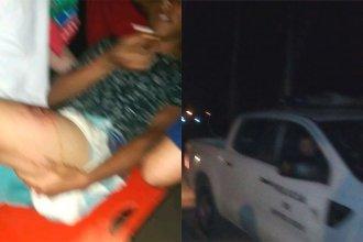 En un confuso episodio, policía baleó en la pierna a un menor