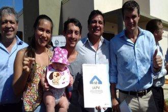 Fueron entregadas 148 viviendas a familias concordienses