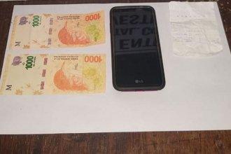 Comerciantes entrerrianos fueron estafados con billetes de $1000 falsos