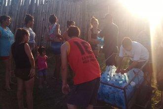 Sobrevivir al calor sin agua: recibirán el 2019 arreglándoselas con baldes y botellas