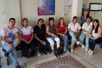 Trabajadores del Sanatorio Río cobraron lo adeudado y levantaron la asamblea