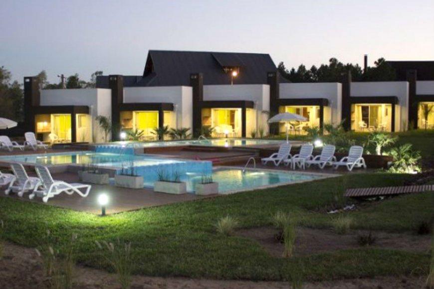 Hotel Amanzi, en la zona norte de Concordia.