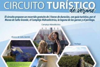 Sin costo, te invitan a recorrer el circuito turístico de Salto Grande