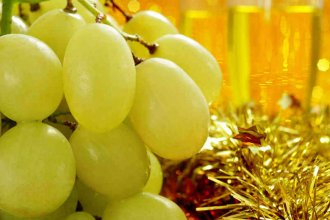 Las uvas bienhechoras