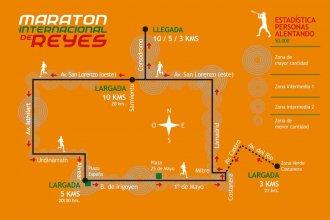 Cuenta regresiva: Último día para inscribirse en la Maratón Internacional de Reyes