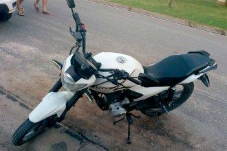 En plena operación de compra-venta, denunció que le habían robado la moto