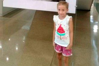 Un mes después del accidente, Joaquina volvió a su casa