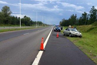 En la tarde de lluvia, la autovía Artigas fue escenario de dos nuevos despistes