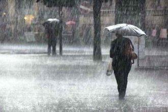 Alertan por lluvias y tormentas con intensa actividad eléctrica y caída de granizo