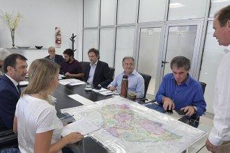 Entre Ríos: El Gobierno trabaja en los distintos puntos afectados por las tormentas