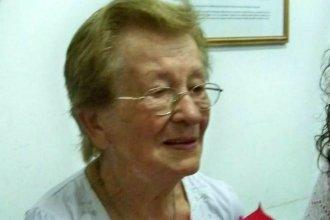 Falleció María Huber, integrante entrerriana de Madres de Plaza de Mayo