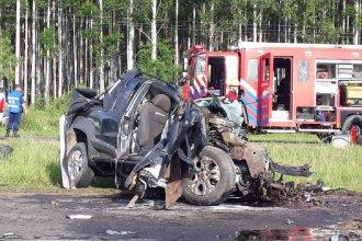 Un fallecido tras impactante accidente en la Autovía Artigas