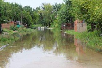 Otro día de inundación: alturas esperadas aguas abajo de la represa para las próximas horas