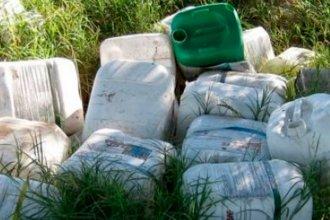 Nuevo invento en Entre Ríos: una máquina para lavar y reutilizar bidones de fitosanitarios