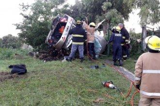 Madre e hijo murieron en un nuevo accidente en ruta entrerriana