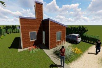 Adjudicaron las primeras viviendas de madera construidas con fondos provinciales