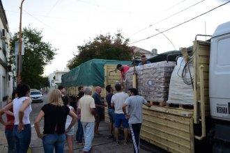 Desde Nación enviaron productos para los afectados por las inundaciones