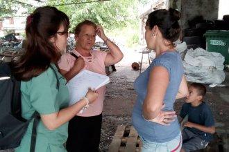 Evacuados concordienses fueron vacunados contra la Leptospirosis
