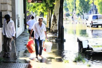 La cantidad de evacuados en Paysandú se duplicó en un solo día