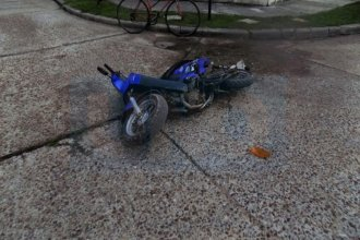 A raíz de un accidente en moto, un hombre de 90 años se descompensó en el hospital y murió