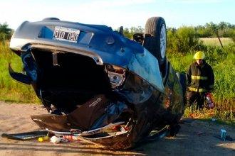 Villaguay: Una mujer volcó su auto y falleció