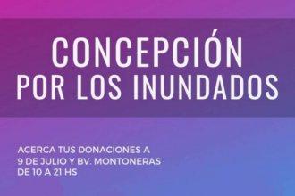 Realizan una campaña a favor de los inundados en Concepción del Uruguay