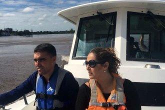 Creciente del río Uruguay: en Uruguay elogian a Salto Grande y en Entre Ríos la cuestionan