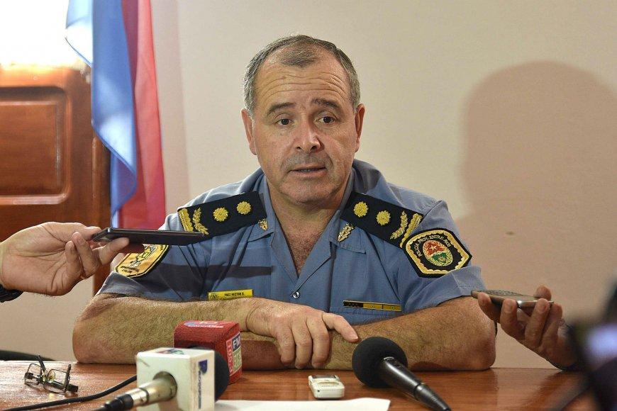 Comisarió Héctor Páez (foto: Rubén Comán).