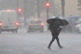 El Servicio Meteorológico emitió un alerta para una parte de Entre Ríos