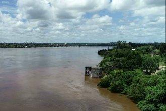 Por segundo día consecutivo, el río Uruguay tenderá a bajar