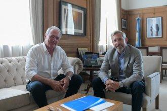 Frigerio recibió a Benedetti y hablaron de futuras candidaturas
