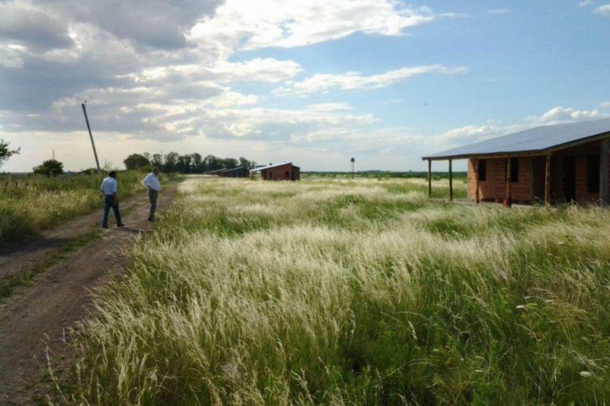 En el campo llegaron a construir 50 viviendas.