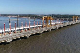 Por trabajos de limpieza, habrá cortes parciales sobre el puente internacional
