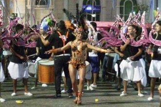 Se presentó el Carnaval de Villaguay