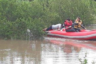 Arroyos desbordados: Dos dramáticos rescates ocurrieron hoy en Entre Ríos
