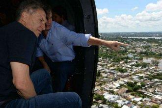 Por las inundaciones en Entre Ríos, Macri recibe a Bordet este jueves