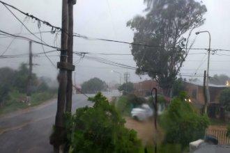 """Pronostican 4 días con lluvias """"poco significativas"""" en toda la cuenca del río Uruguay"""