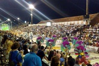 En la última noche de enero, 15 mil espectadores disfrutaron del Carnaval del País