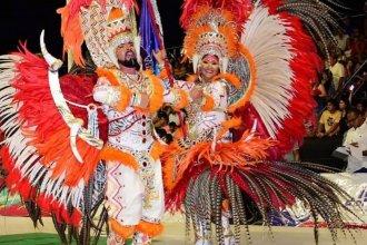 Concordia tuvo la primera de sus 6 noches de pasión con el Carnaval