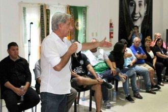 Respaldado por Urribarri, Solanas sigue de campaña y se muestra lejos del consenso con Bordet