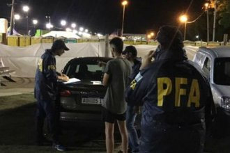"Otro ""transa"" fue detenido con droga en la Fiesta de la Playa"