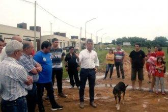 Licitan obras para que el agua del arroyo El Doctor no llegue a las nuevas viviendas de El Brillante