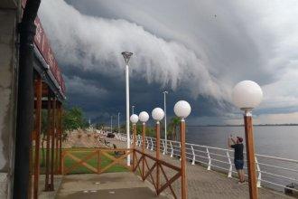 Alerta meteorológico: lluvias, viento y granizo para el norte entrerriano