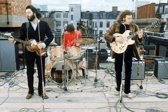 Película con material inédito sobre el último disco de Los Beatles