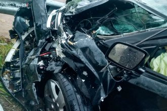 Una persona perdió la vida tras un tremendo choque en la ruta 11