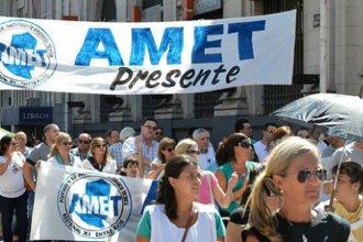 AMET se alinea bajo el reclamo de Agmer por una urgente convocatoria a discutir salarios